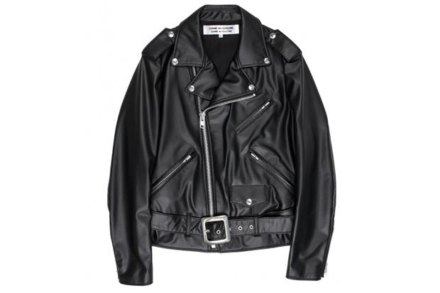 COMME des GARÇONS Biker Synthetic Leather Jacket
