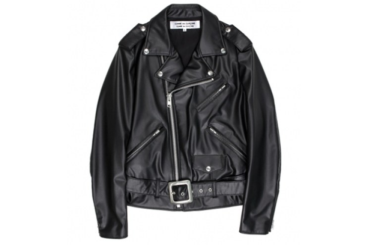 COMME des GARÇONS Biker Synthetic Leather Jacket