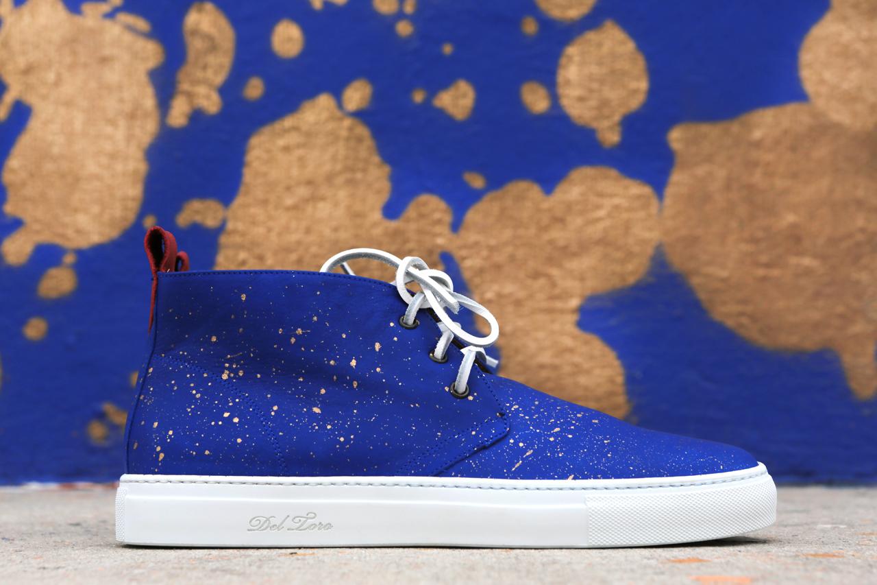 Stash x Del Toro Limited Edition Painted Alto Chukka Sneaker