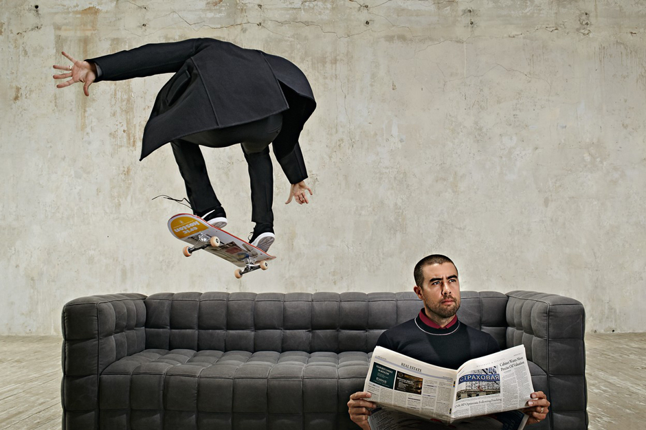 eric koston flying pizza for esquire russia