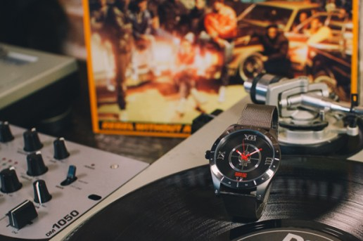 FLüD x Public Enemy Watch Collection
