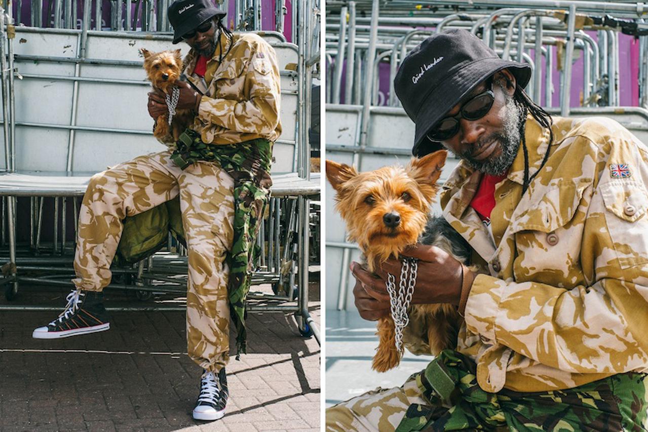 "Grind London ""Jah Bless"" for Breaks Magazine Lookbook"