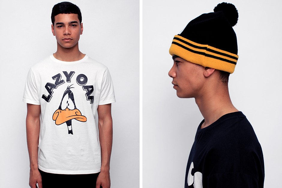 looney tunes x lazy oaf menswear collection