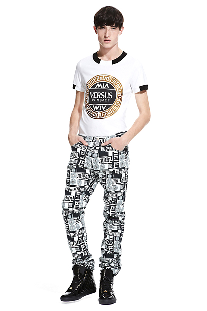 M.I.A. x Versus Versace Lookbook
