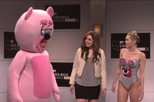 Miley Cyrus Appears On Saturday Night Live