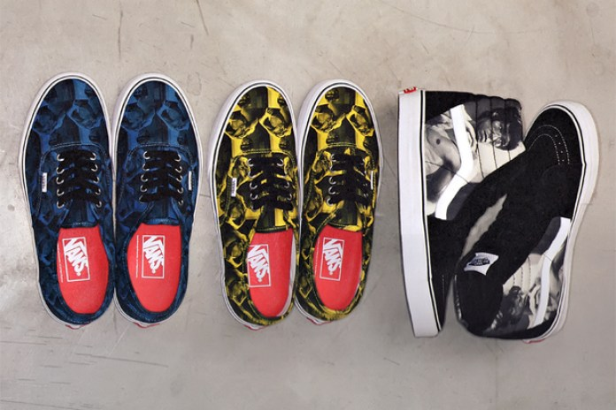 "Supreme x Vans Sk8-Hi and Authentic ""Bruce Lee"" Preview"