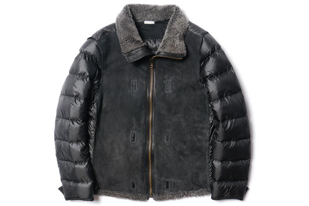 ten c shearling liner jacket