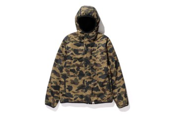 A Bathing Ape 2013 Fall/Winter 1ST CAMO x FLEECE REVERSIBLE HOODIE