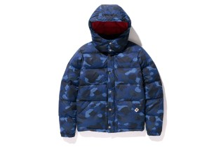 A Bathing Ape 2013 Fall/Winter COLOR CAMO DOWN JACKET