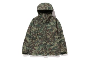 A Bathing Ape 2013 Fall/Winter LIZARD CAMO SNOW BOARD JACKET