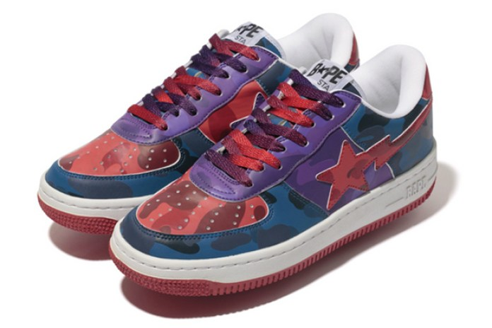 "A Bathing Ape ""Color Camo Crazy"" BAPE STA"
