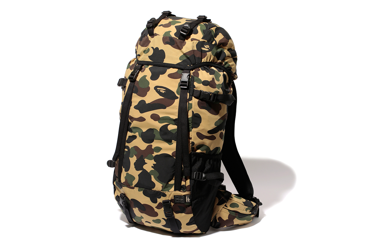 a bathing ape x porter 2013 fall winter 1st camo capsule