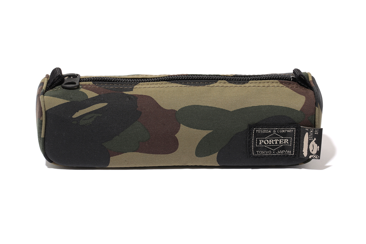 a bathing ape x porter 2013 fallwinter 1st camo capsule collection