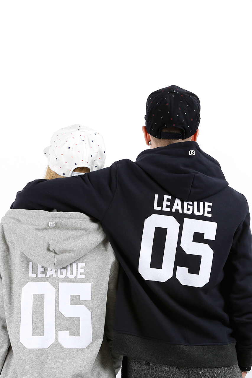 a land x liful join our league hoodie