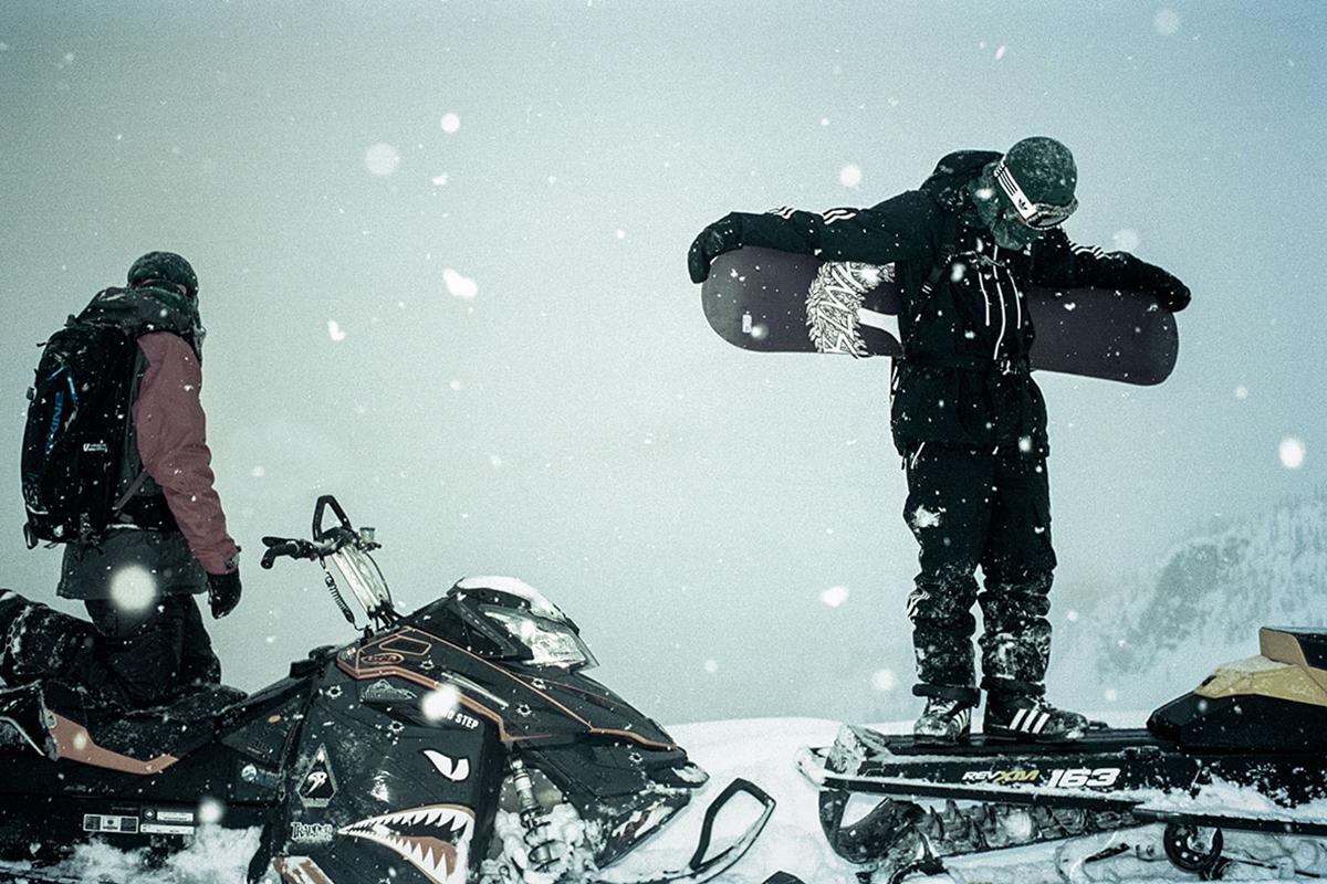 adidas Snowboarding 2013 Winter Lookbook