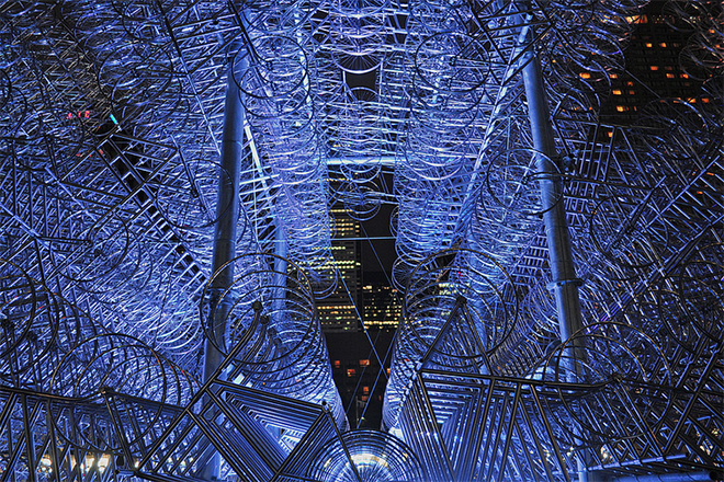 ai weiwei forever bicycles installation