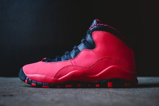 Air Jordan 10 Retro GS Fusion Red/Black