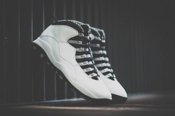 """Air Jordan 10 Retro """"Steel"""" Preview"""
