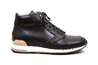 Alexander McQueen Black Hightop Sneakers