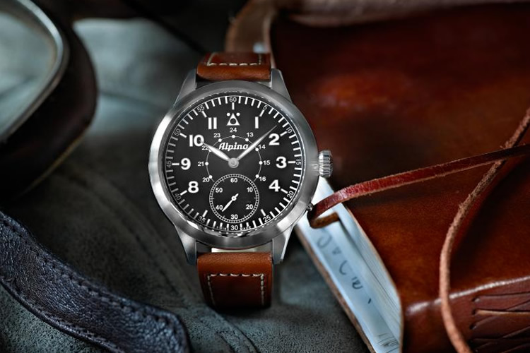 Alpina Heritage Pilot Watch