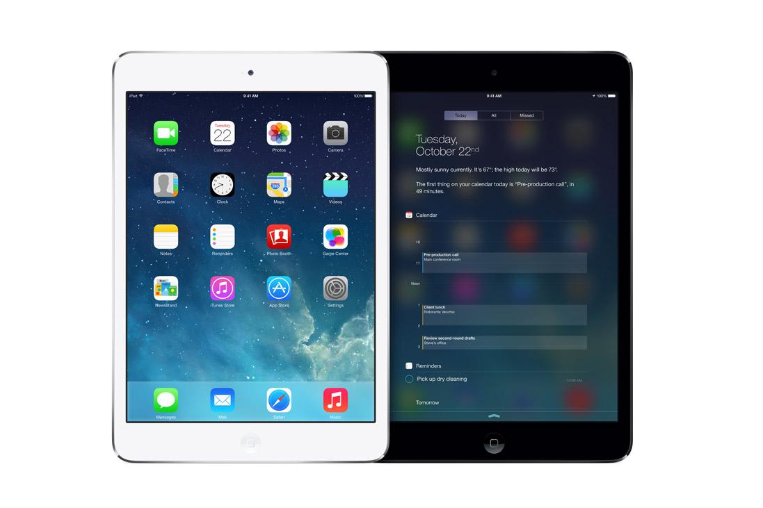 apple ipad mini with retina display