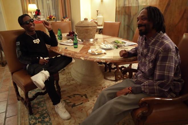 aap rocky interviews snoop lion