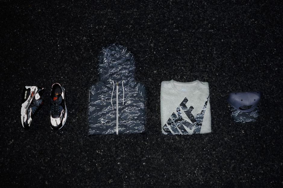 "atmos x Nike Air Max 90 ""Black Tiger Camo"" Pack Preview"