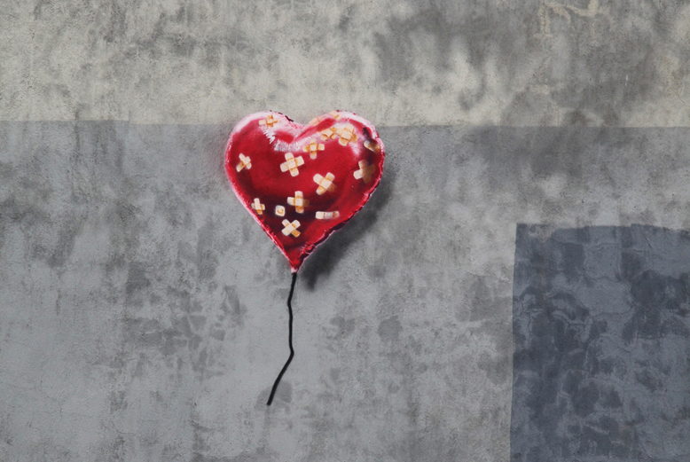 banksy gets sentimental for latest installment of better out than in