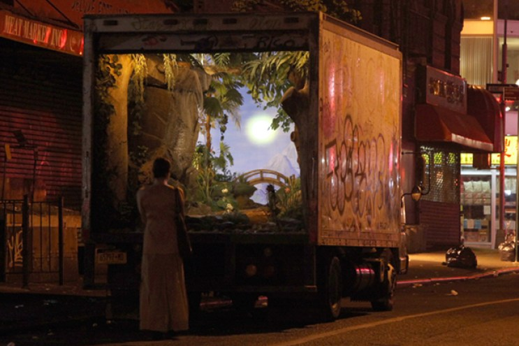 """Banksy's """"Better Out Than In"""" Project in NYC Continues Onto Day 5"""