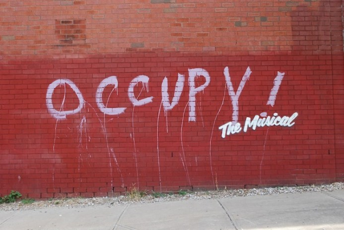 Banksy Gives New York Graffiti a Broadway Makeover