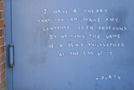 """Banksy Philosophizes on Day 8 of """"Better Out Than In"""""""