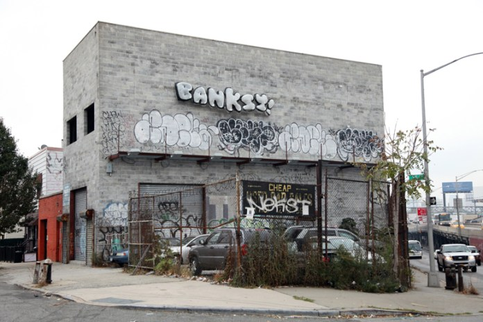 "Banksy's ""Better Out Than In"" Comes to an End on the Long Island Expressway"