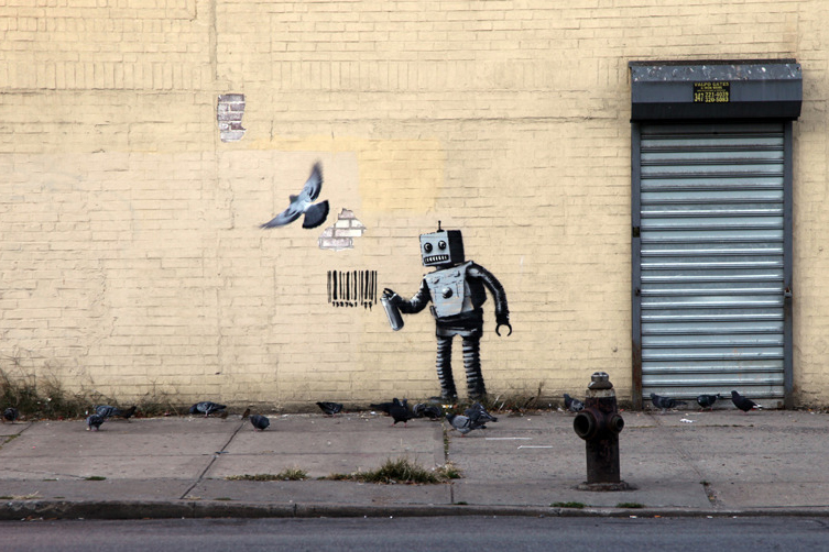 "Banksy's ""Better Out Than In"" Hits Coney Island"