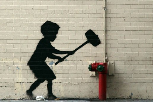 "Banksy's ""Better Out Than In"" Hits New York's Upper West Side"