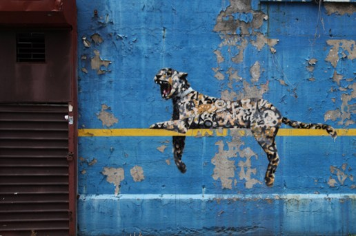 """Banksy's """"Better Out Than In"""" Hits Yankee Stadium"""