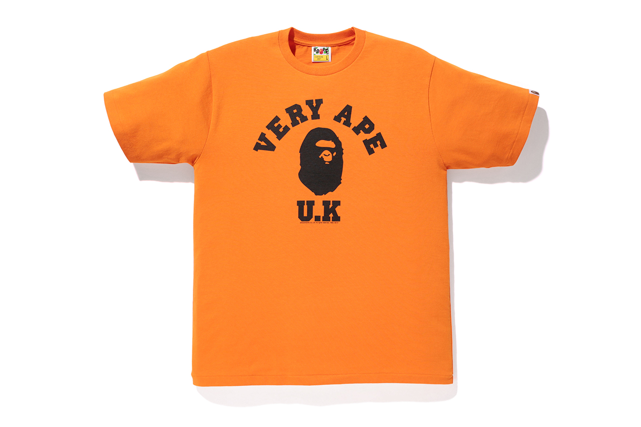 bape store london very ape 11th anniversary t shirts