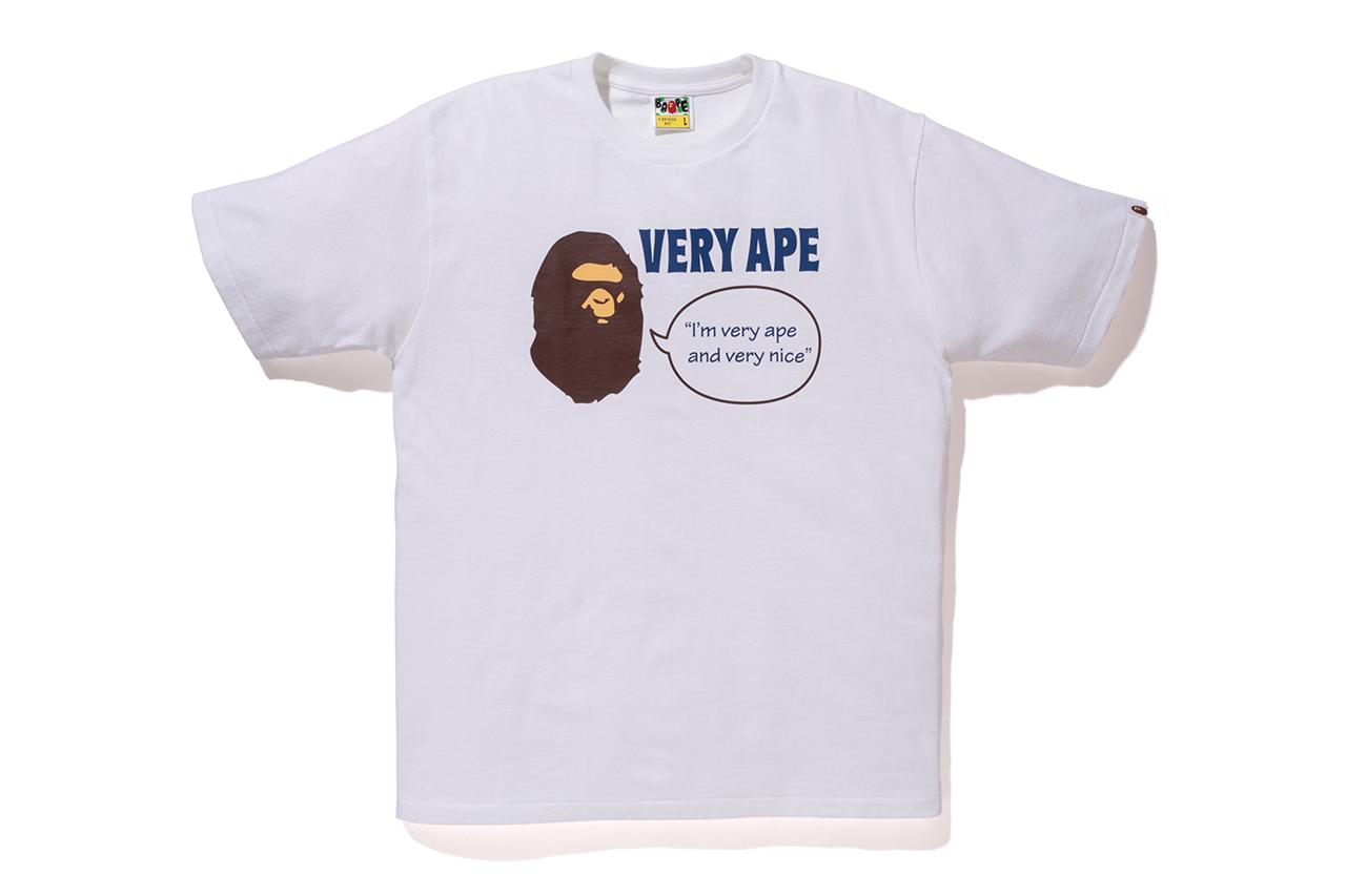 "BAPE STORE LONDON ""Very Ape"" 11th Anniversary T-Shirts"