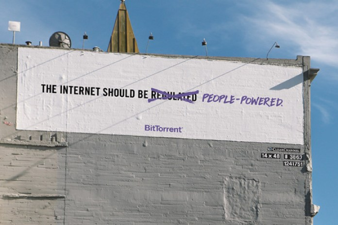 BitTorrent Billboard Campaign