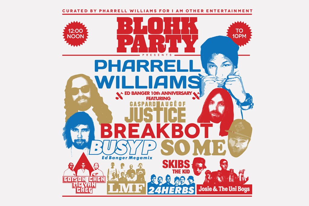 http://hypebeast.com/2013/10/blohk-party-2013-curated-by-pharrell-williams-for-i-am-other-entertainment