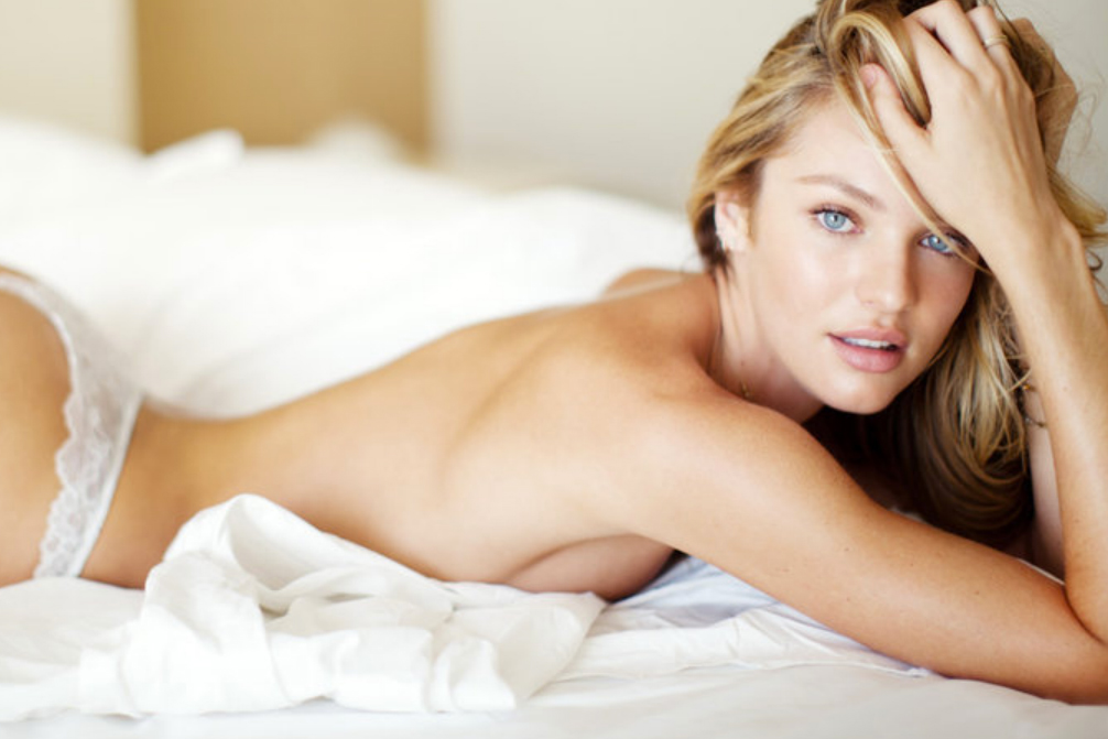 Candice Swanepoel Teases the Launch of Her New Website