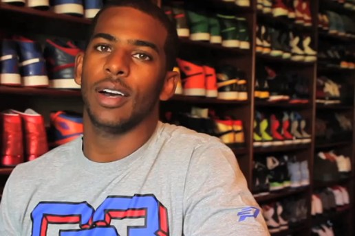 A Look Inside Chris Paul's Jordan Closet