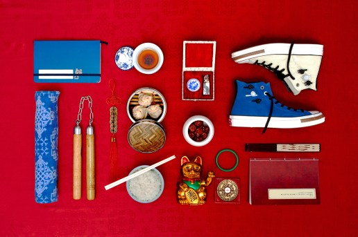 "CLOT x Converse First String 2013 Holiday ""Chang Pao"" Collection Preview"
