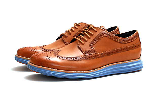"Cole Haan Lunargrand Long Wingtip ""Camello"""
