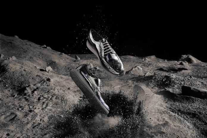 """Cole Haan Silver LunarGrand Long Wingtip """"#SilverGrandSweeps"""""""