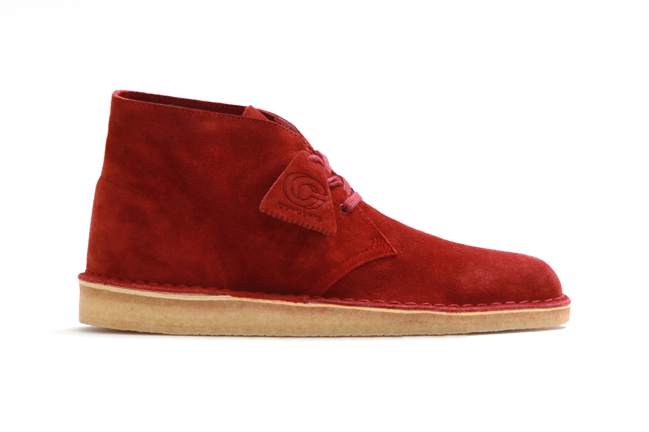 "Concepts x Clarks 2013 Fall/Winter ""Desert Palmer"""