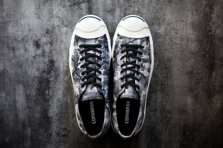 Converse 2013 Fall/Winter Jack Purcell Black + White Camo