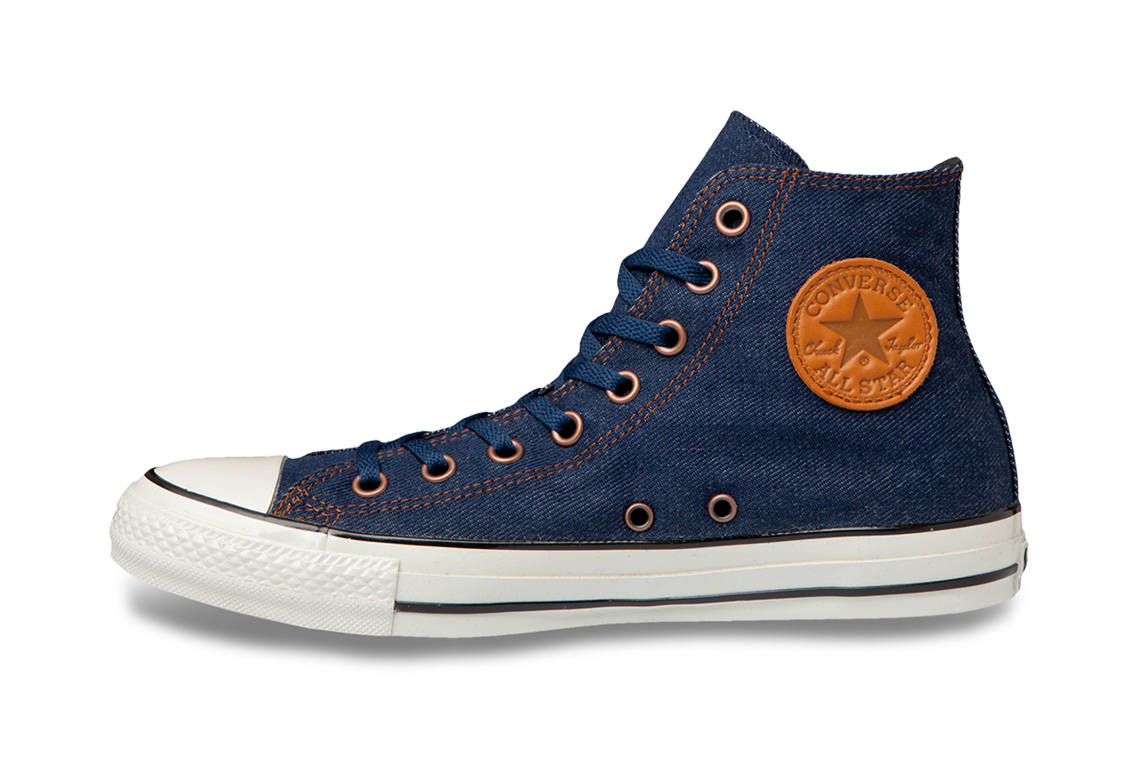 converse chuck taylor all star denimpants hi