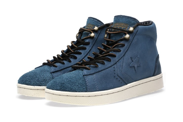 "Converse First String Pro Leather Mid Zip ""Pine Cone"""