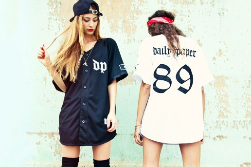 Daily Paper 2013 Fall/Winter Baseball Jerseys
