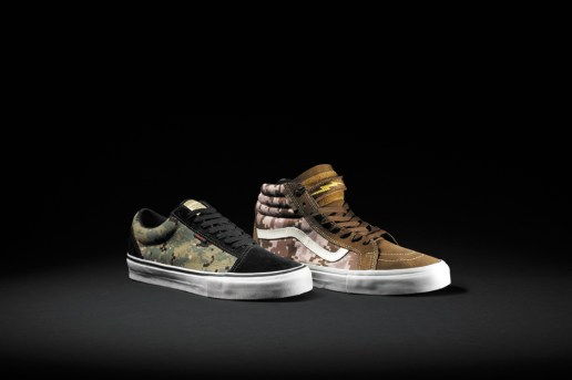 "DEFCON x Vans Syndicate ""Digital Camo"" Pack"